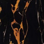 Portoro Marble Black and Gold