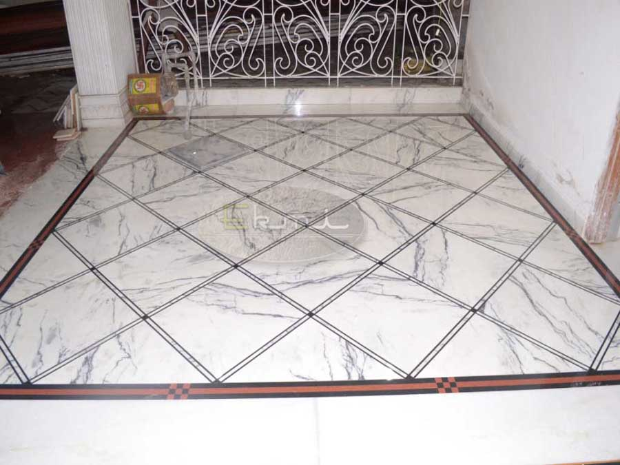 Indian Satwario Marble Flooring