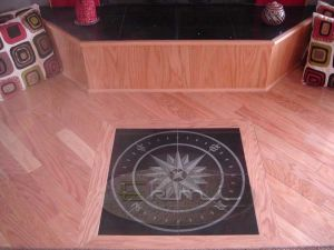 iNDIAN PINK mARBLE FLOORING