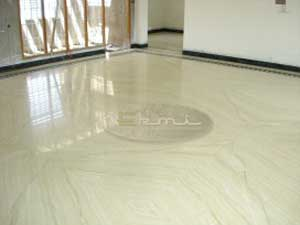 LIGHT GREEN KATNI MARBLE FLOORING