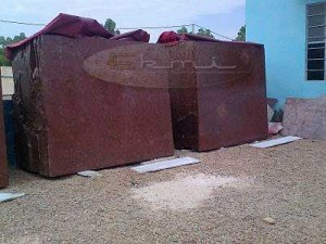Indian Oman Red Marble  border